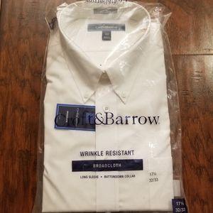Croft & Barrow Men's Long Sleeve Shirt